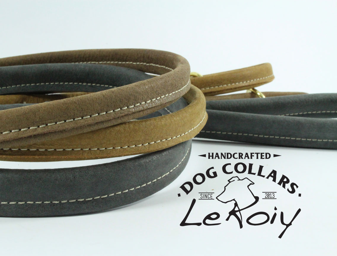 Round Stitched Leads with Wrist Strap